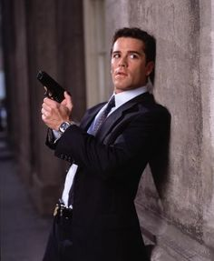 Murdoch mysteries - I need to see which episode that was, he looks so cool