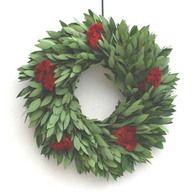 Fragrant Myrtle Fresh Wreath (available Nov 1 – Dec 22)