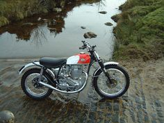 1955 BSA Gold Star 500MX