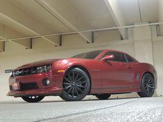 2010 RED JEWEL 2SS/RSS #CHEVY CAMARO #Hotchkis wheels