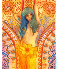 Love atrracting sybols or sacred geometry | Tantra - Flower of Life, Sacred Geometry, Poster