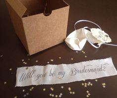 Will you be my bridesmaid Pop the balloon to by MySouthernSpirit