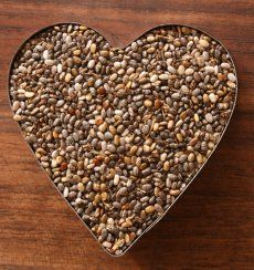 "Get your ""Health on"" and eat Chia Seeds....Chia seeds are unprocessed, nutty-tasting, nutrient-dense whole grain with omega-3 fatty acids—has among the highest antioxidant activity of any whole food."