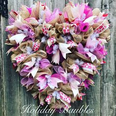 Shabby Heart by Holiday Baubles