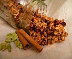 Eat Like Your Grandma: Festive Holiday Granola with Pumpkin and Cardamom