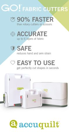Accuquilt Fabric Cutters And Accessories