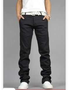Fashion Belief Black Skinny Jeans Men for Stylish Appearance Author and date posted are N/A New Man Clothing, Men Clothes, Men's Clothing, Slim Jeans, Skinny Jeans, Men's Wardrobe, My Guy, Look Cool, Swagg