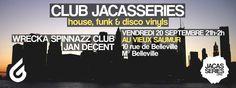 20.09.2013 @ CLUB JACASSERIES  Flyer: JAN DECENT