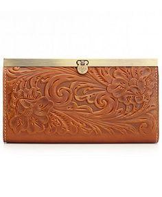 Patricia Nash Handbag, Tooled Cauchy Wallet