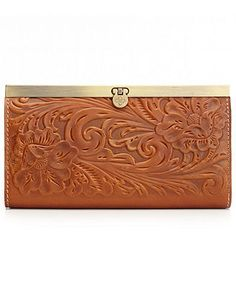 Patricia Nash Handbag, Tooled Cauchy Wallet