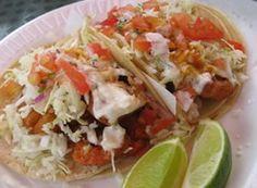 Chef Luis Aranda ®: Tacos de pescado estilo Ensenada