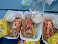 Quoddy Bay Lobster Rolls..come to Maine!