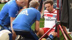 La historia del jugador que se lesionó celebrando un gol en Alemania: 6 meses descartado