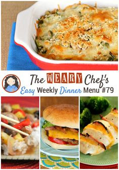 Easy Weekly Dinner Menu #79: Hello from Blogher!