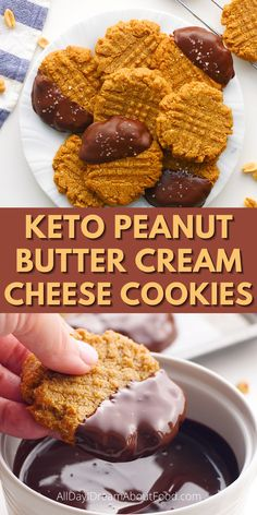 Have you ever made keto peanut butter cookies with cream cheese? Let me just cut to the chase. Run to your kitchen right now and make these. You won't regret it! These low carb, sugar-free cookies are AMAZING!!!
