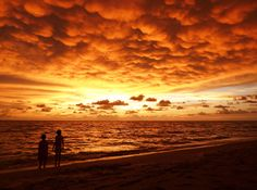 I met Melanie Moraga on Sanibel Island, Florida at the shell museum in December 2012.  This photo that she submitted to Florida Travel & Life magazine won her first place in the sunset category! Beautiful photography!