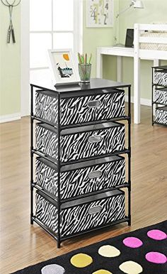 Altra Furniture 4-Bin Storage End Table, Zebra Print Altr... http://www.amazon.com/dp/B00EJNR27I/ref=cm_sw_r_pi_dp_jm7jxb1XD2YM1