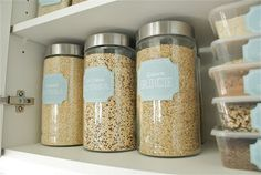 The Social Home: FREEBIES! (lots of cute free labels and cheap pantry organization tips)