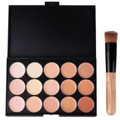 SHARE & Get it FREE | 15 Colors Professional Concealer Camouflage Makeup Palette with BrushFor Fashion Lovers only:80,000+ Items • New Arrivals Daily • Affordable Casual to Chic for Every Occasion Join Sammydress: Get YOUR $50 NOW!
