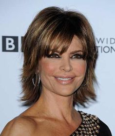 Short Layered Haircuts Bangs In 2020 Short Layered Hairstyle with Bangs Hairstyles Weekly Short Layered Bob Haircuts, Short Hairstyles For Thick Hair, Shag Hairstyles, Hairstyles Over 50, Haircuts With Bangs, Layered Hairstyles, Modern Hairstyles, Office Hairstyles, Anime Hairstyles