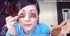 She Puts Coffee Under Her Eyes. But When She's Done? Brilliant