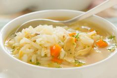 Recipe for Slow Cooker Cream of Chicken and Rice Soup