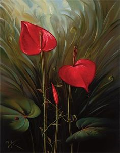 Vladimir Kush garden of eden painting is shipped worldwide,including stretched canvas and framed art.This Vladimir Kush garden of eden painting is available at custom size. Vladimir Kush, Paintings Famous, Realistic Paintings, Oil Paintings, Flower Paintings, Famous Artists, Surrealism Painting, Artist Painting, Salvador Dali