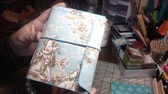 Blue Toile Junk Journal