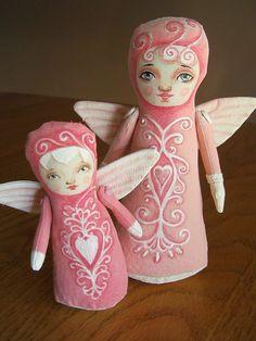 Stump doll angels.