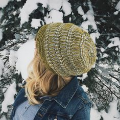Ravelry: Rudbeckia Hat pattern by Andrea Mowry Knitted Headband, Knitted Hats, Knit Crochet, Crochet Hats, Yarn Stash, Different Textures, Better Together, Stitch Patterns, Ravelry