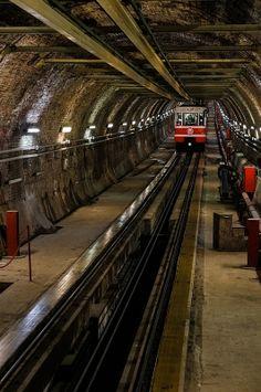 Karakoy-Taksim tunnel, Istanbul