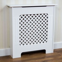 Oxford Radiator Cover White Traditional MDF Wood Cabinet Grill Furniture Small 333488 for sale online Contemporary Radiators, Mdf Cabinets, Vida Design, Oxford, Front Rooms, Mdf Wood, Hallway Decorating, Houses, Diy