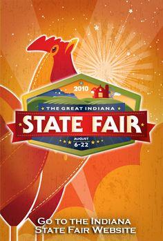 2010 Indiana State Fair logo
