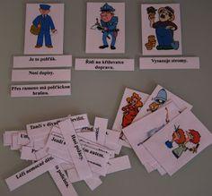 Školní hrátky: Povolání - čtení s porozuměním Event Ticket, Playing Cards, School, Books, Advent, Libros, Playing Card Games, Book, Book Illustrations