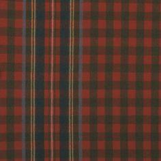 Whitredge Tartan – Red Chestnut - Tartans - Ralph Lauren Home Tartan Fabric, Tartan Plaid, Ralph Lauren Fabric, Check Fabric, Fabric Patterns, Swatch, Red, Popular, Wishful Thinking