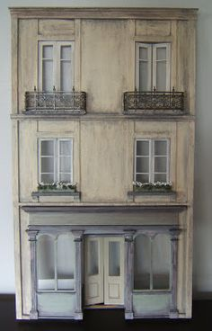 make mine mini: French facade - finished!!