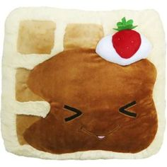 The Comfort Food WAFFLE is here! An adorable breakfast-y friend filled with love! And syrup! #squishable #plush #breakfast