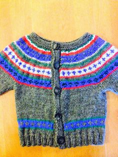 Fair Ilse Sweater Size 2, Girl Knit Sweater Size 3, Fair Isle Sweater Size 4, Knit Fair Isle  Sweater Size 3, Cardigan Sweater Size 4 - pinned by pin4etsy.com