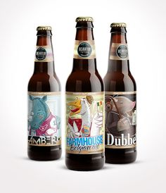 Heartly Craft Beer on Packaging of the World - Creative Package Design Gallery