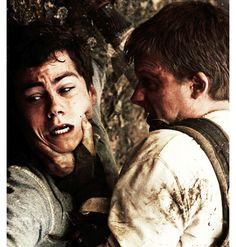 The Maze Runner. Ben's attack on Thomas. THIS SCENES GOING TO BE SO INTENSE