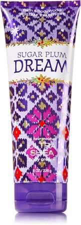 SUGAR PLUM DREAMS 24 Hour Moisture Ultra Shea Body Cream - Signature Collection - Bath & Body Works