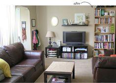 floating shelf above tv                                                                                                                                                                                 More