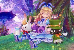 Aura Kingdom:Alice, MMORPG fantasy