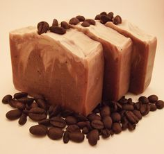 Coffee Soap  Handmade cold process soap  by PearlyQueenSoapery, $6.20