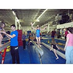 Kid's Night Out at Team Central Gymnastic Academy Maryland Heights, MO #Kids #Events
