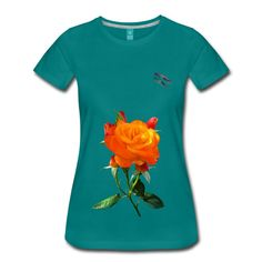 Rose Shirt Randy Design