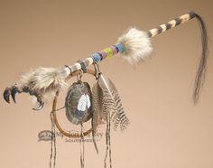 Native American Apache Medicine Stick Eagle Claw