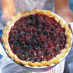 Fresh Blackberry Pie  #spring #desserts #fruit