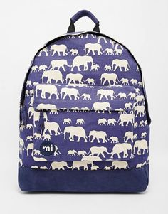 Mi-Pac Backpack in Elephant Print