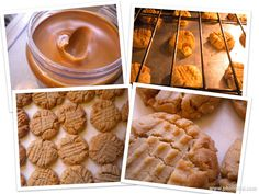 The Best Peanut Butter Cookies - Whether you like your cookies just out of the oven or with a big glass of milk…this recipe will satisfy that sweet urge you may have. Go ahead and grab… Gooey Cookies, Candy Cookies, Cupcake Cookies, Candy Recipes, Cookie Recipes, Dessert Recipes, Pie Dessert, Cookie Desserts, Best Peanut Butter Cookies